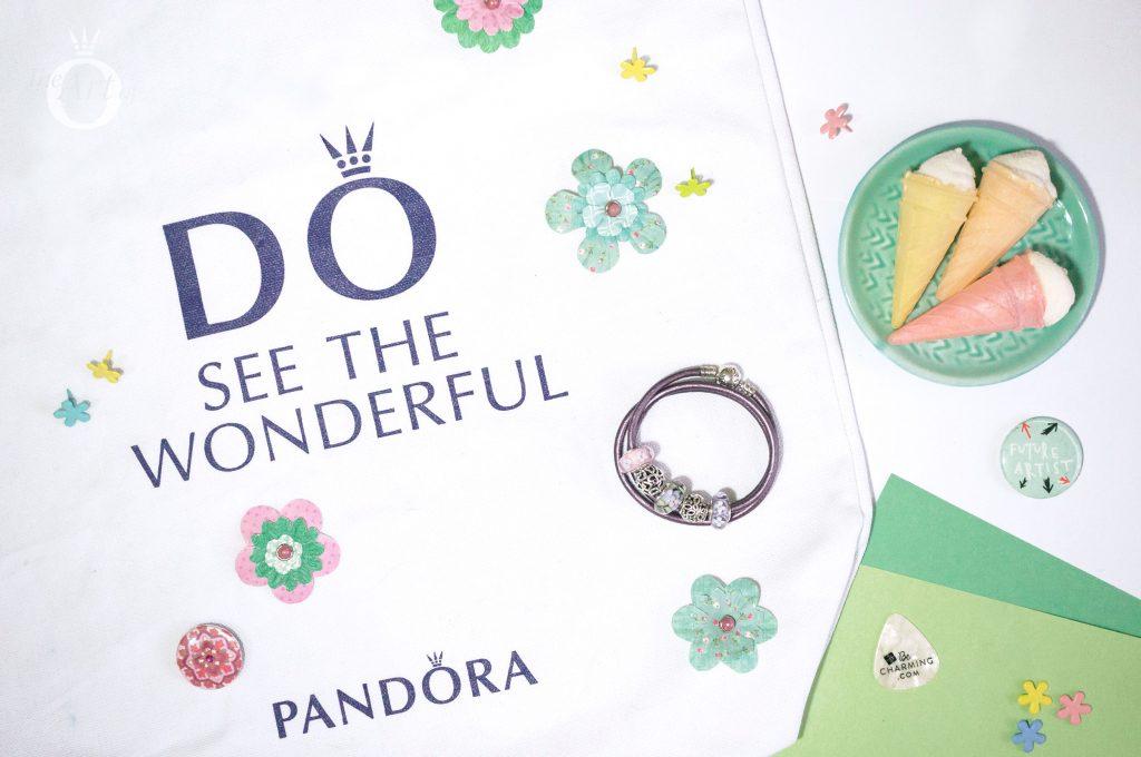 PANDORA Enchanted Garden Murano Charm 797014, pandora blog, pandora bee murano, pandora spring 2018