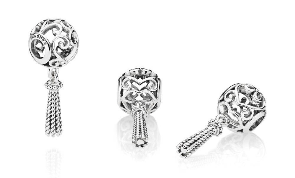 797037 PANDORA Enchanted Heart Tassel Pendant  spring summer pre autumn 2018 new collection
