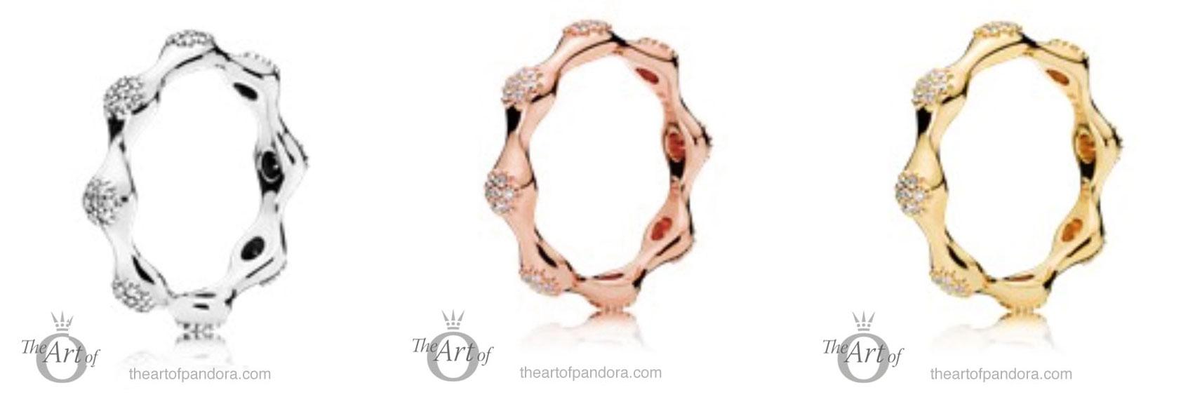 pandora 8 love pod rings rose shine the art of pandora Thank You Clip Art Tiger Tigger Party