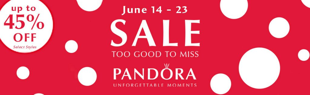pandora us summer sale 45%