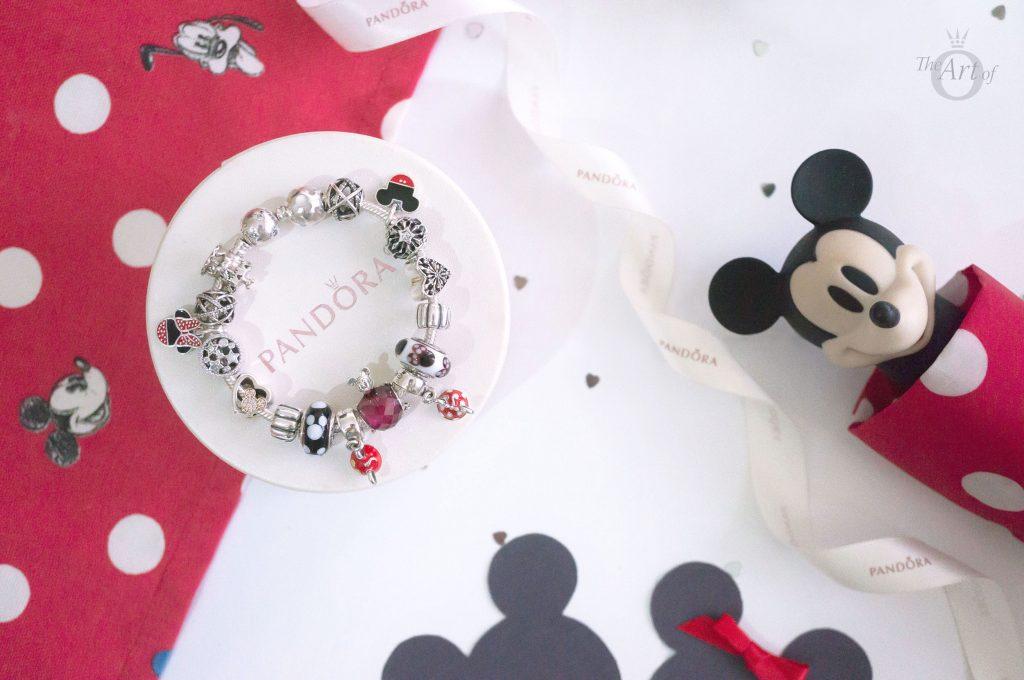 797168NFR PANDORADisney Mickey Love Heart Charm PANDORA Disney Mothers day collection new collection fuchsia shape of love