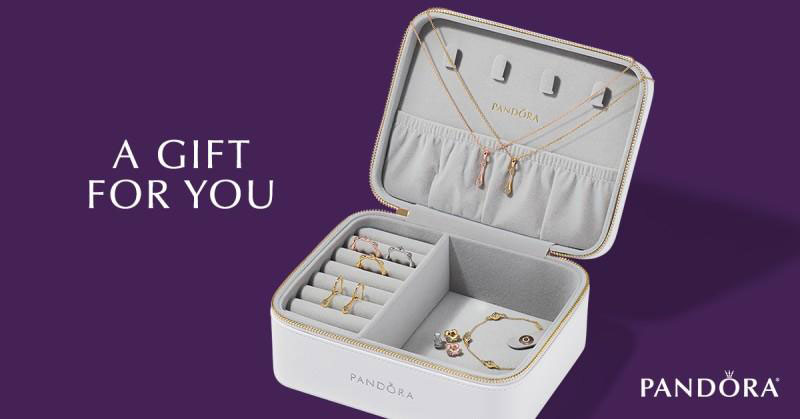 pandora free jewellery box