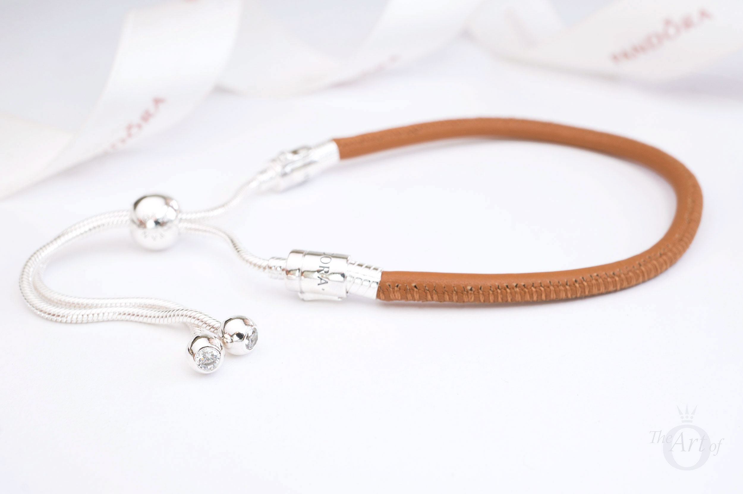 b354e3f44 REVIEW: PANDORA Moments Sliding Leather Bracelet, Golden Tan - The ...