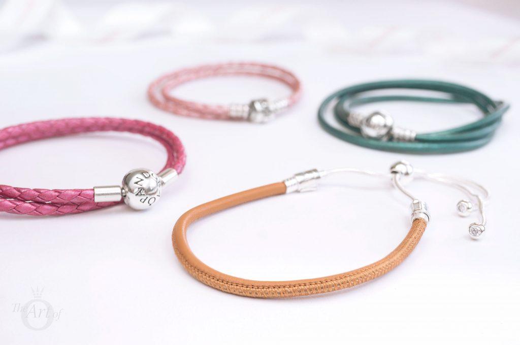 REVIEW: PANDORA Moments Sliding Leather Bracelet, Golden Tan - The ...