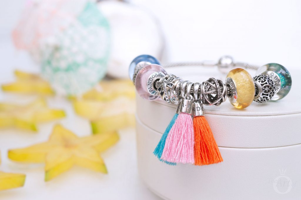 797212CBP 797212COE 797212CTQ PANDORA Tassel Pendant Charm Pink Orange Turquoise summer 2018 autumn winter theartofpandora becharming the official pandora new collection