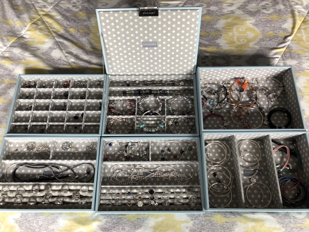 PANDORA Stackers jewellery box