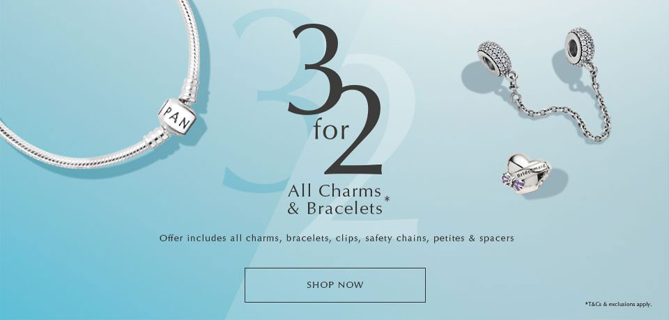 pandora sale uk 3 for 2 bracelets charms