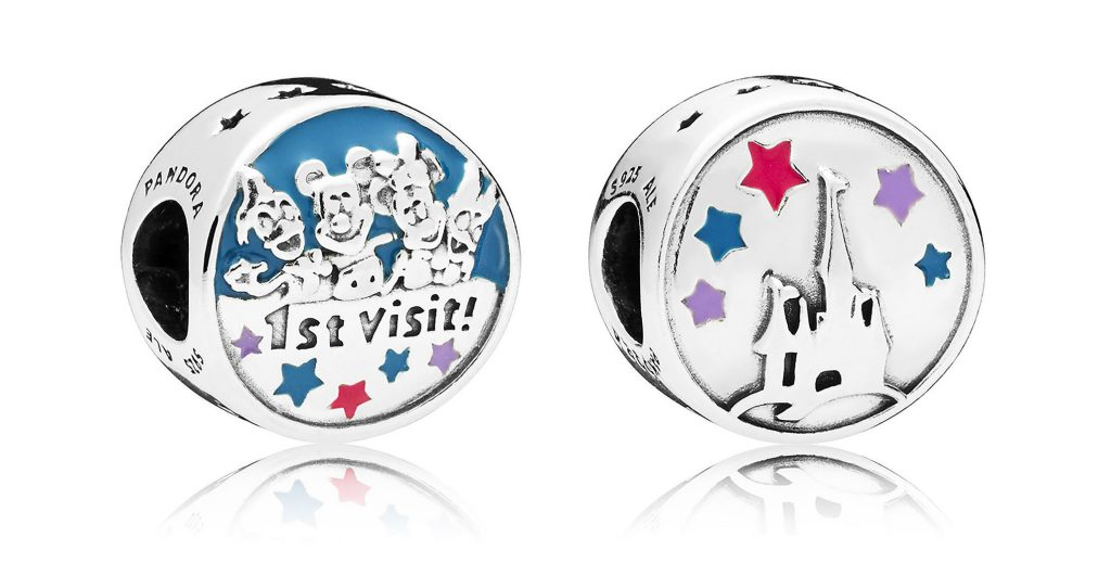 pandora disney parks mickey mouse 1st first visit charm 2018 summer autumn