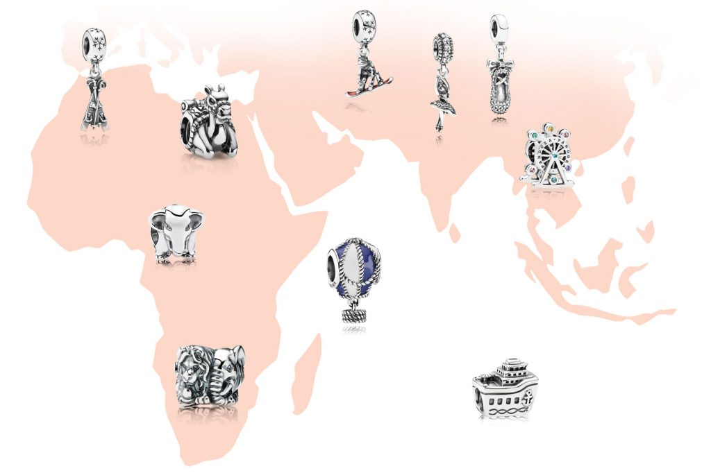 pandora charms from japan