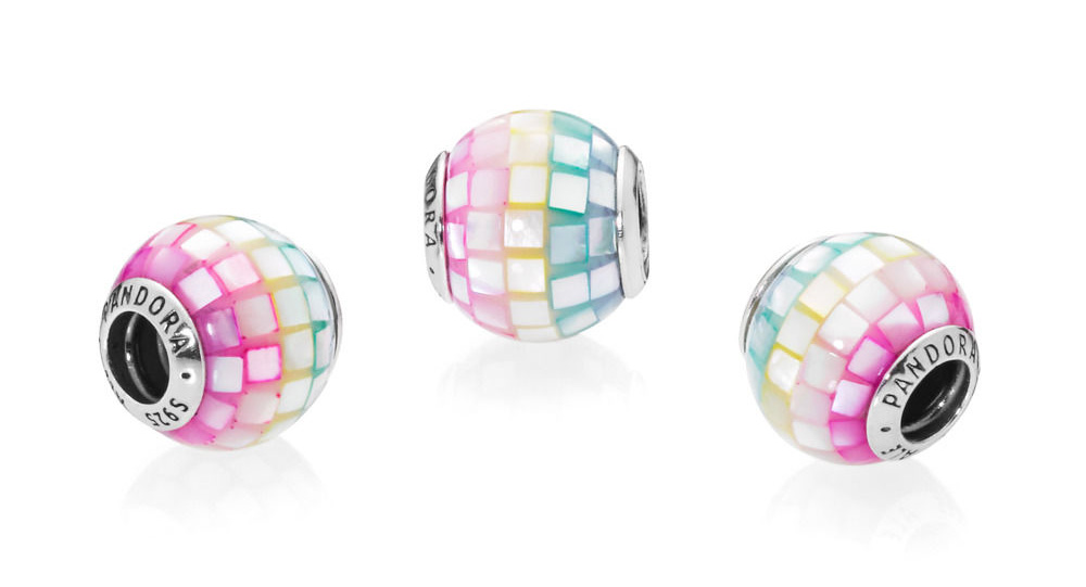 797183MPR PANDORA Multi Coloured Mosaic Charm rainbow summer autumn 2018 bruno the unicorn 797609 new collection becharming.com pandora review blog theartofpandora disney winter parks