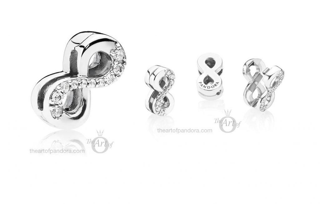 PANDORA Reflexions Sparkling Infinity Clip Charm (797580CZ)
