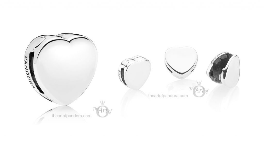 PANDORA Reflexions Heart Clip Charm (797620)