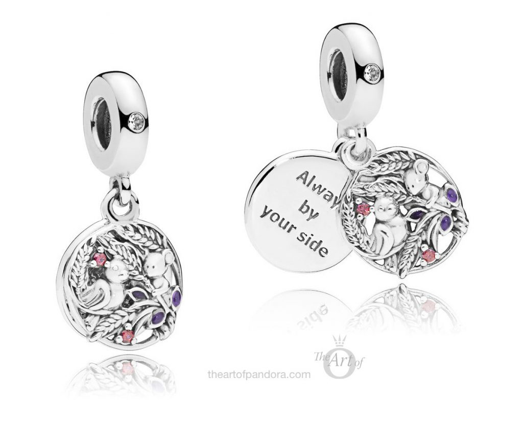 PANDORA Always By Your Side Dangle Charm (797671CZRMX) autumn winter 2018 new collection