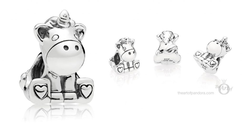 PANDORA Bruno the unicorn charm 797609 autumn 2018 winter collection
