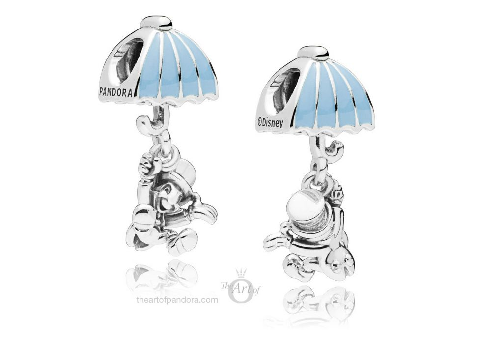 PANDORA Disney Jiminy Cricket Dangle Charm 797492EN41