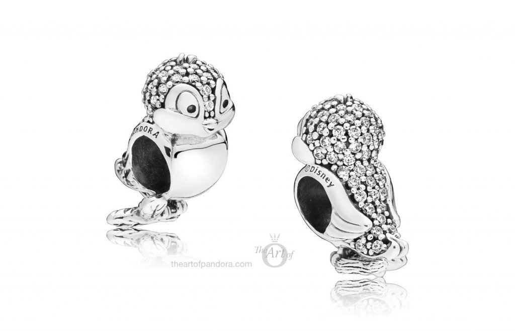 PANDORA Disney Snow White's Bird Charm (797166CZ)
