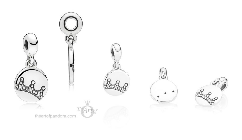 PANDORA Essence Dazzling Crown Dangle Charm (797624CZ)