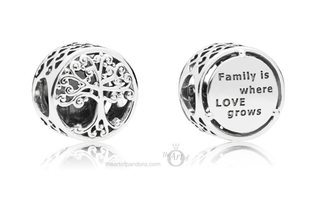 PANDORA Family Roots Charm (797590) autumn winter 2018 new collection