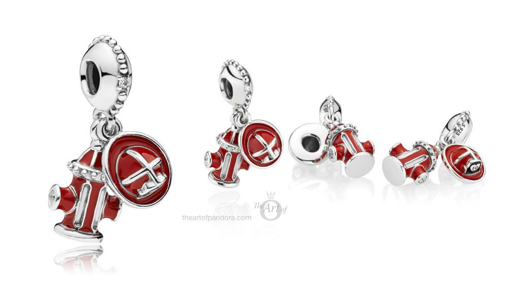 PANDORA Firefighter Essentials Dangle Charm (797632ENMX) autumn winter 2018