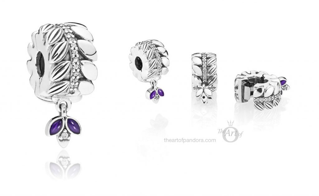 PANDORA Grains of Energy Clip (797591CZ) autumn 2018 winter new collection