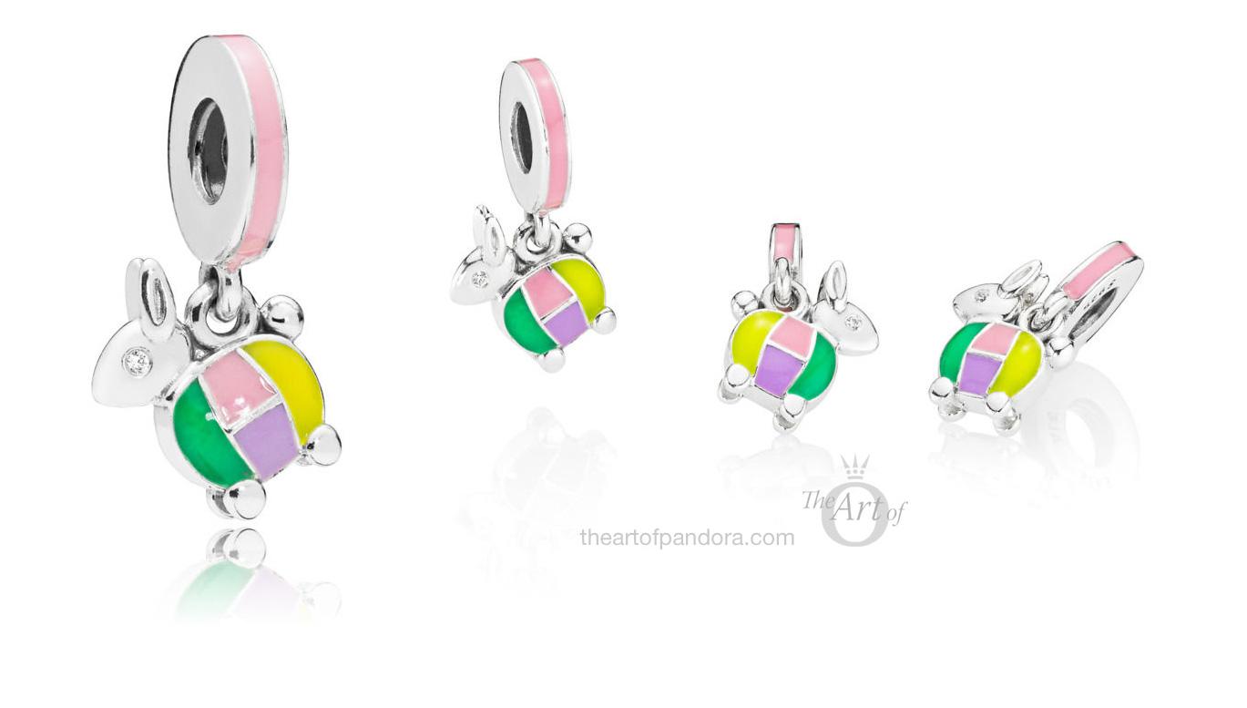 Pandora Rabbit Lantern Dangle Charm 797603enmx The Art