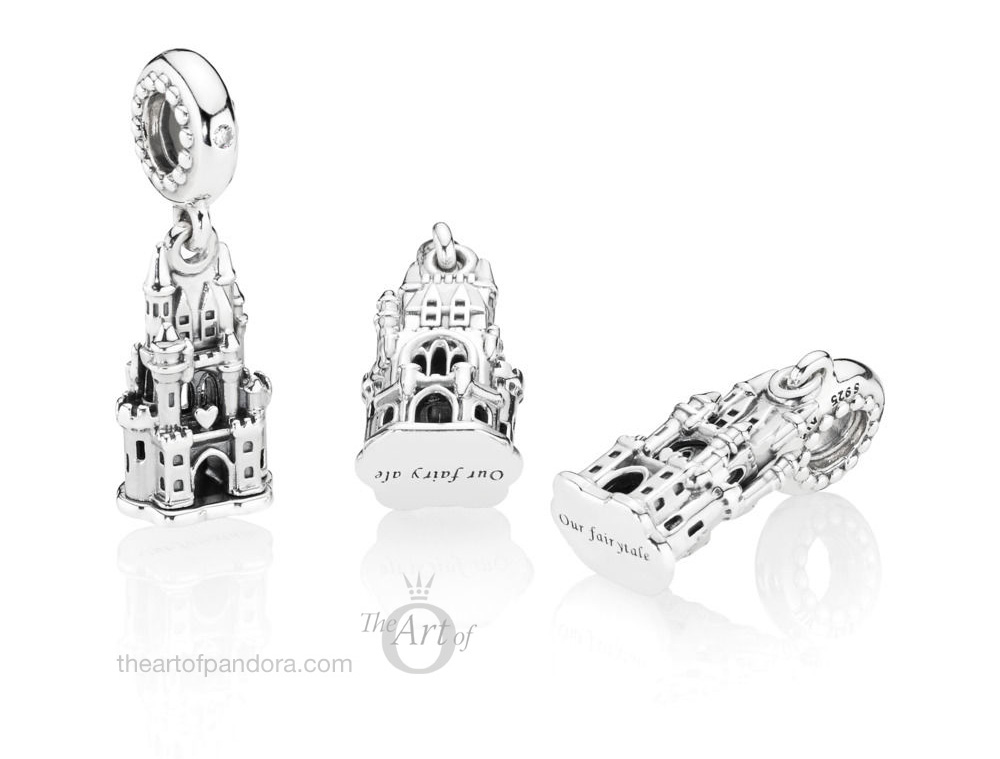 PANDORA Regal Castle Dangle Charm 797651CZ fairy tale disney autumn winter 2018 new collection