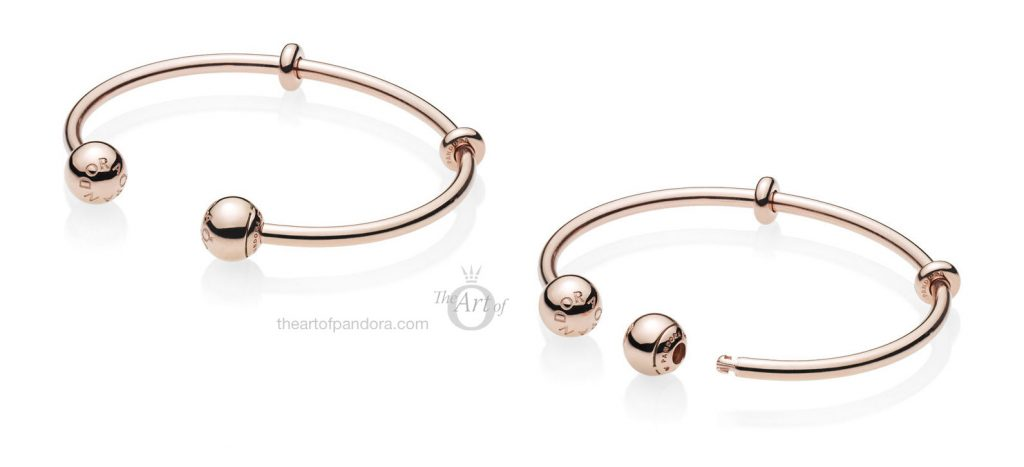 PANDORA Rose Open Bangle 586477