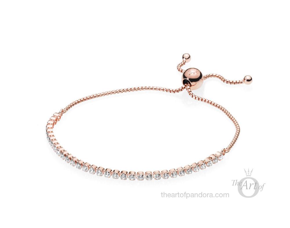 PANDORA Rose Sparkling Strand Bracelet (580524CZ)