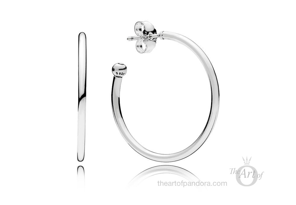 PANDORA Hoops of Versatility Earrings (297727)
