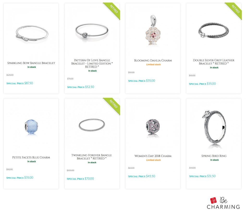 pandora sale disney parks last call retired discount autumn winter 2018 new collection