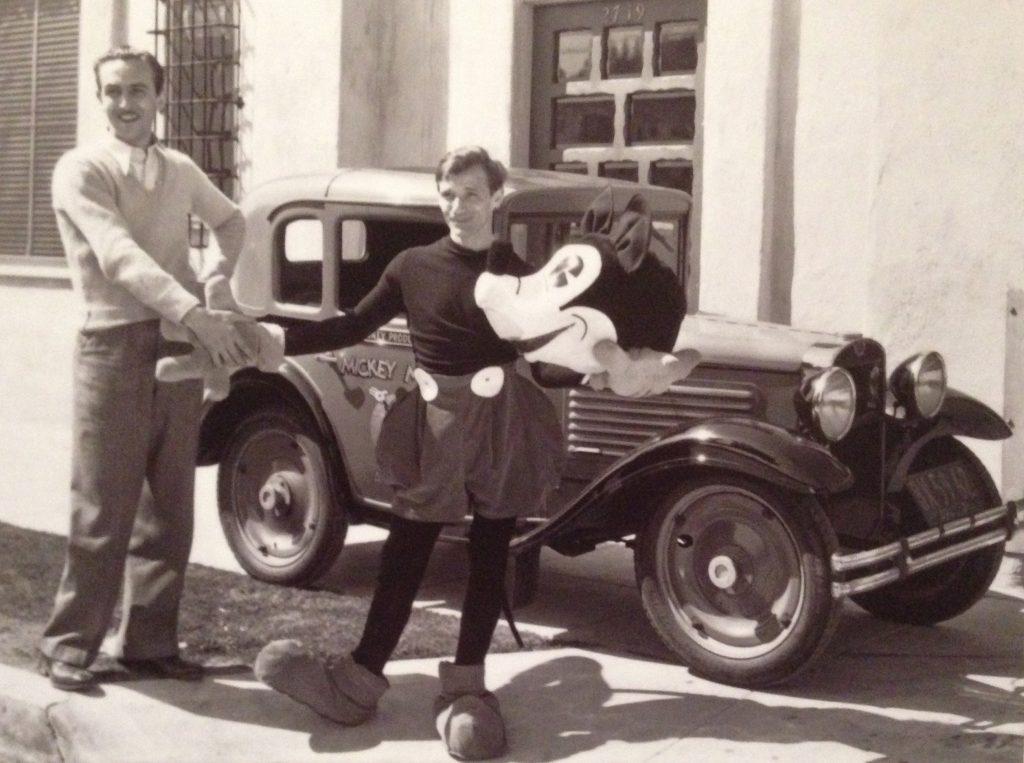 Mickey Mouse vintage car pandora charm disney walt