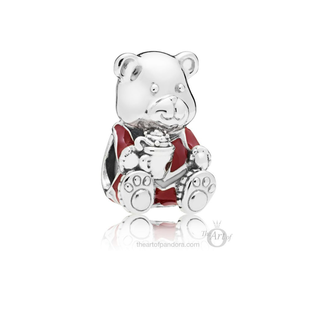 797564ENMX PANDORA Christmas Bear Charm winter 2018