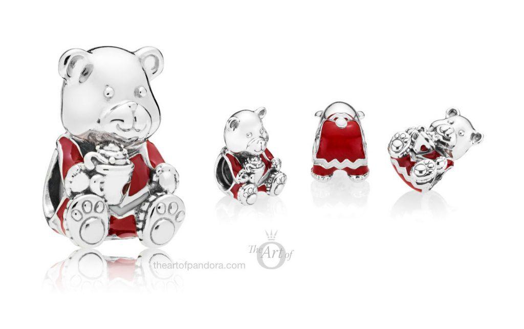 PANDORA Christmas Bear Charm (797564ENMX)
