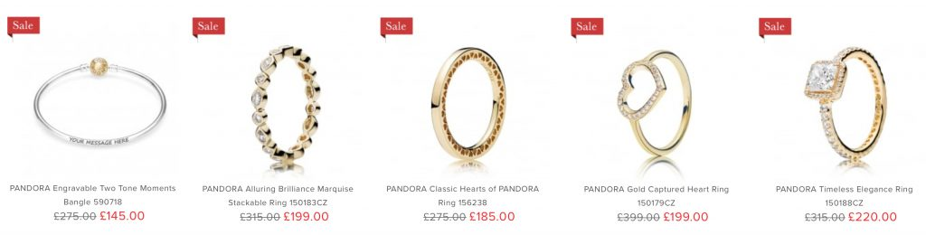 3b5d02eab If PANDORA Rings are your thing then head over to John Greed for a  fantastic saving on these beauties! Plus the Two Tone Moments Bangle is  available for ...
