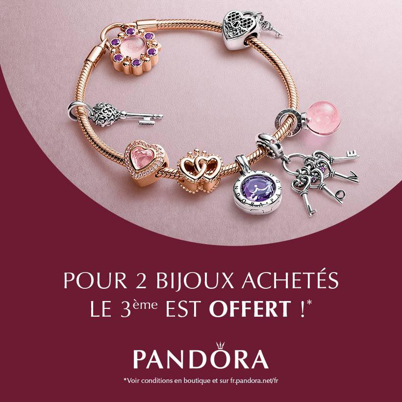 pandora sale 3 for 2 france