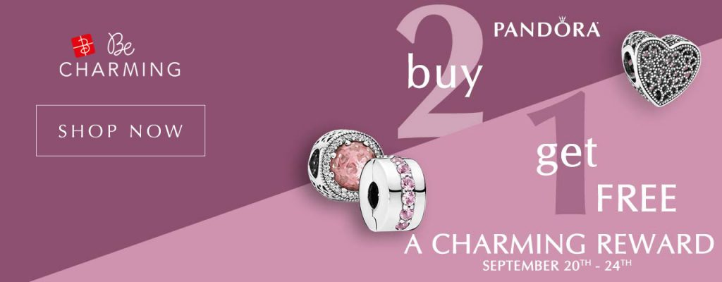 pandora becharming 3 for 2