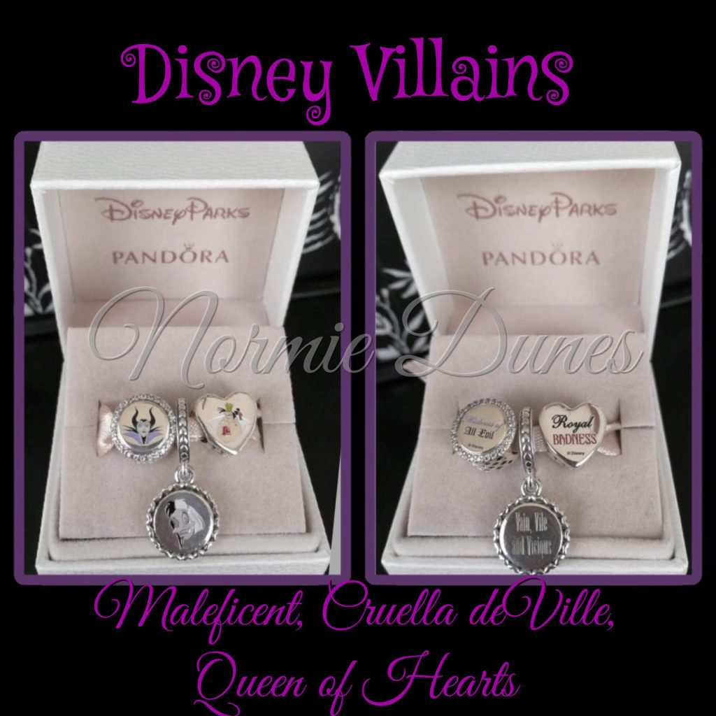 PANDORA Disney Parks Villain Set & Nightmare Before Christmas Charm ...