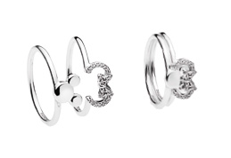 8c7d2fb1b Disney fans will love the new Mickey Silhouette Ring with its simple yet  iconic silhouette of Mickey in a highly polished silver design.