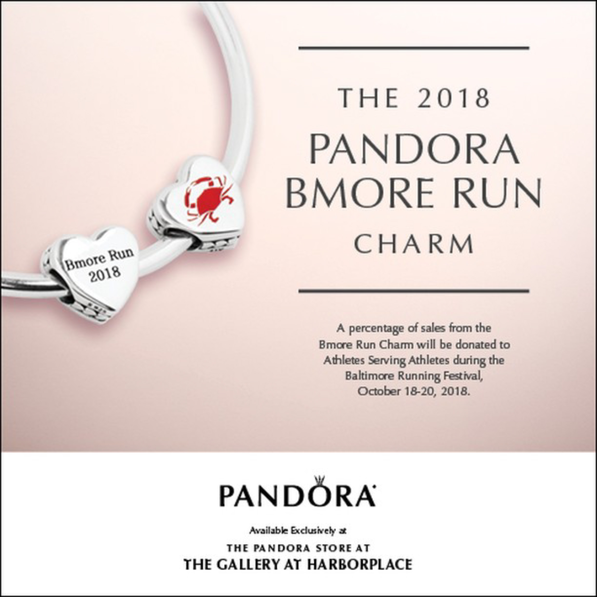 pandora charms for running