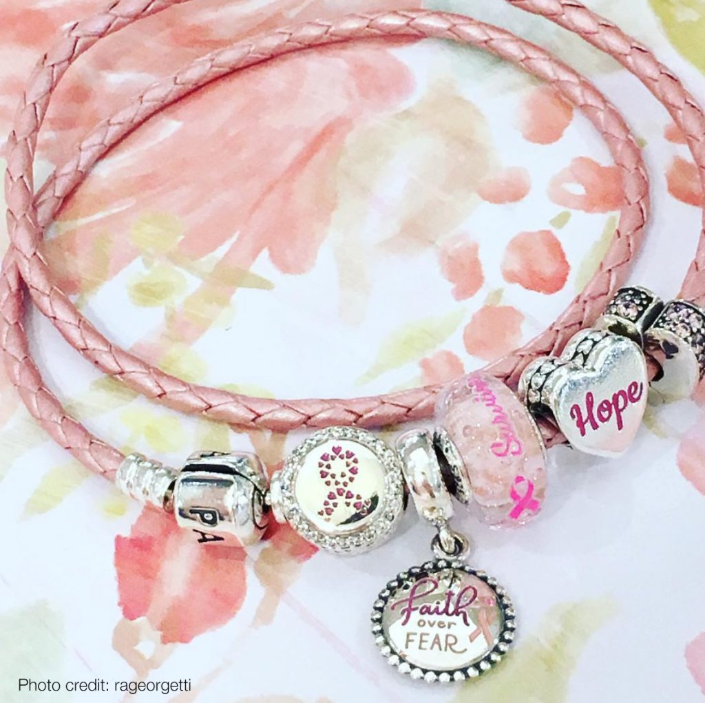 pandora breast cancer 2018
