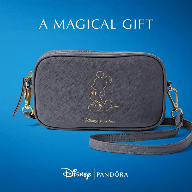 pandora free disney bag 90 years mickey anniversary
