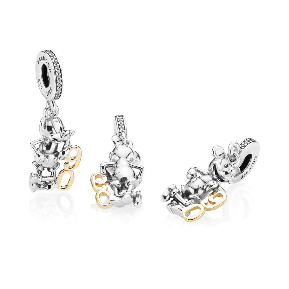 B801005 797497CZ PANDORA Disney Limited Edition Mickey's 90th Anniversary Pendant Charm winter 2018 new collection pandora christmas gift present valentines spring summer autumn 2019 sale free promotion promo gwp blog blogger becharming theartofpandora