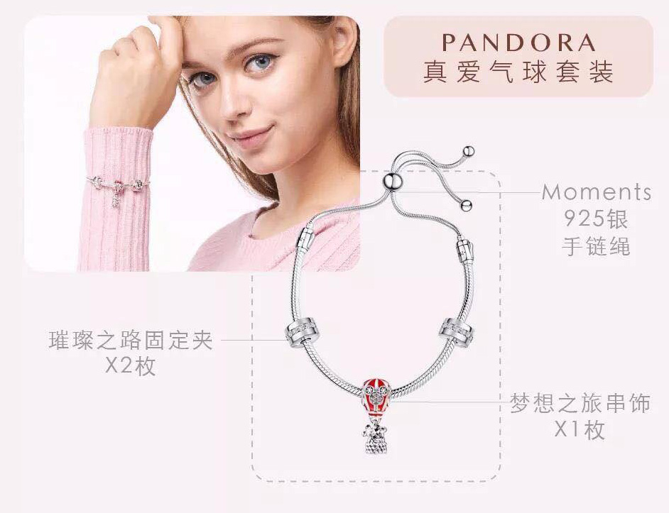 PANDORA CHINA EXCLUSIVE: Limited Edition Mickey 90th Anniversary Gift Set