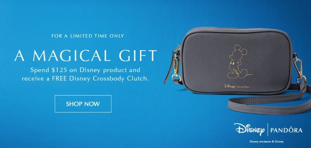 free disney crossover bag mickey anniversary gift new pandora