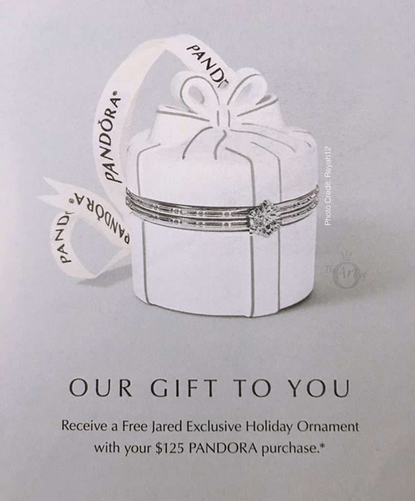 f59f64884 PANDORA Jared's Exclusive 2018 Holiday Ornament & Gift Set - The Art ...