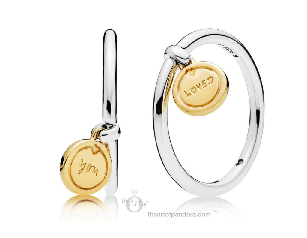 PANDORA Medallion of Love Ring 167823 Valentines Day 2019