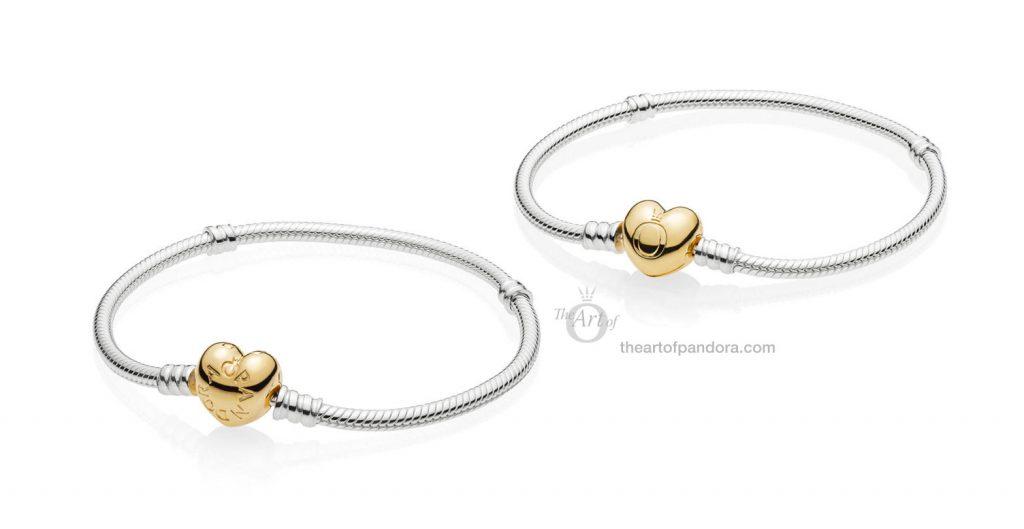 PANDORA Shine Heart Clasp Bracelet 560719 Valentines Day 2019