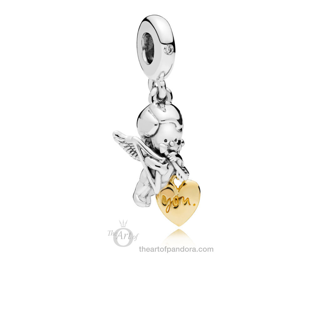 PANDORA Cupid and You 767796CZ Valentines Day 2019