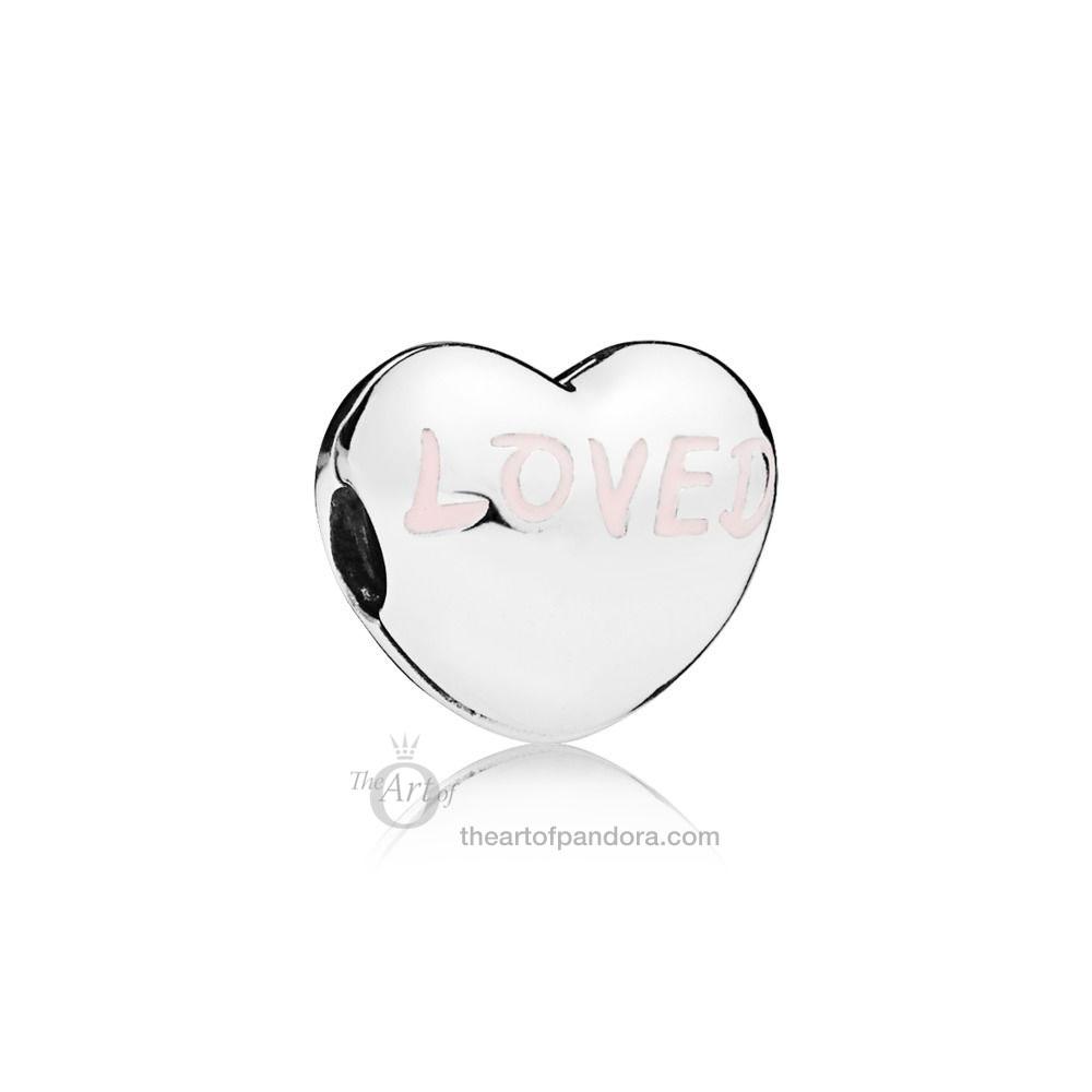 PANDORA Loved Heart Clip 797807EN124 Valentines Day 2019