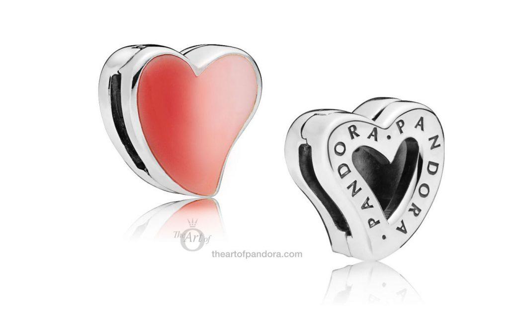PANDORA Reflexions Asymmetric Heart of Love Clip 797809ENMX Valentines Day 2019